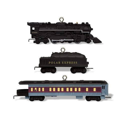 Polar Express Tree Ornament - MINIATURE SET 2018  - Hallmark