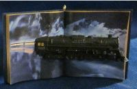 Polar Express Tree Ornament - Believe In the Magic  2012 3D Book - Hallmark
