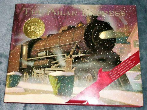 The Polar Express Book, Chris Van Allsburg incl Tree Ornament