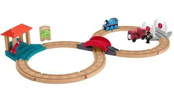 Bertie and Thomas Racing Set - Thomas Wood