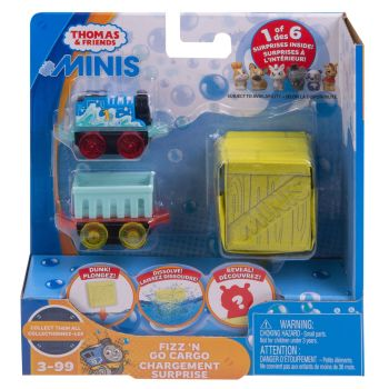 Fizz N Go - Thomas and French Bulldog - Thomas Minis