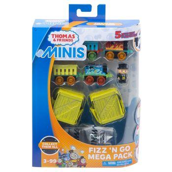 Fizz N Go Mega Pack  - Thomas Minis