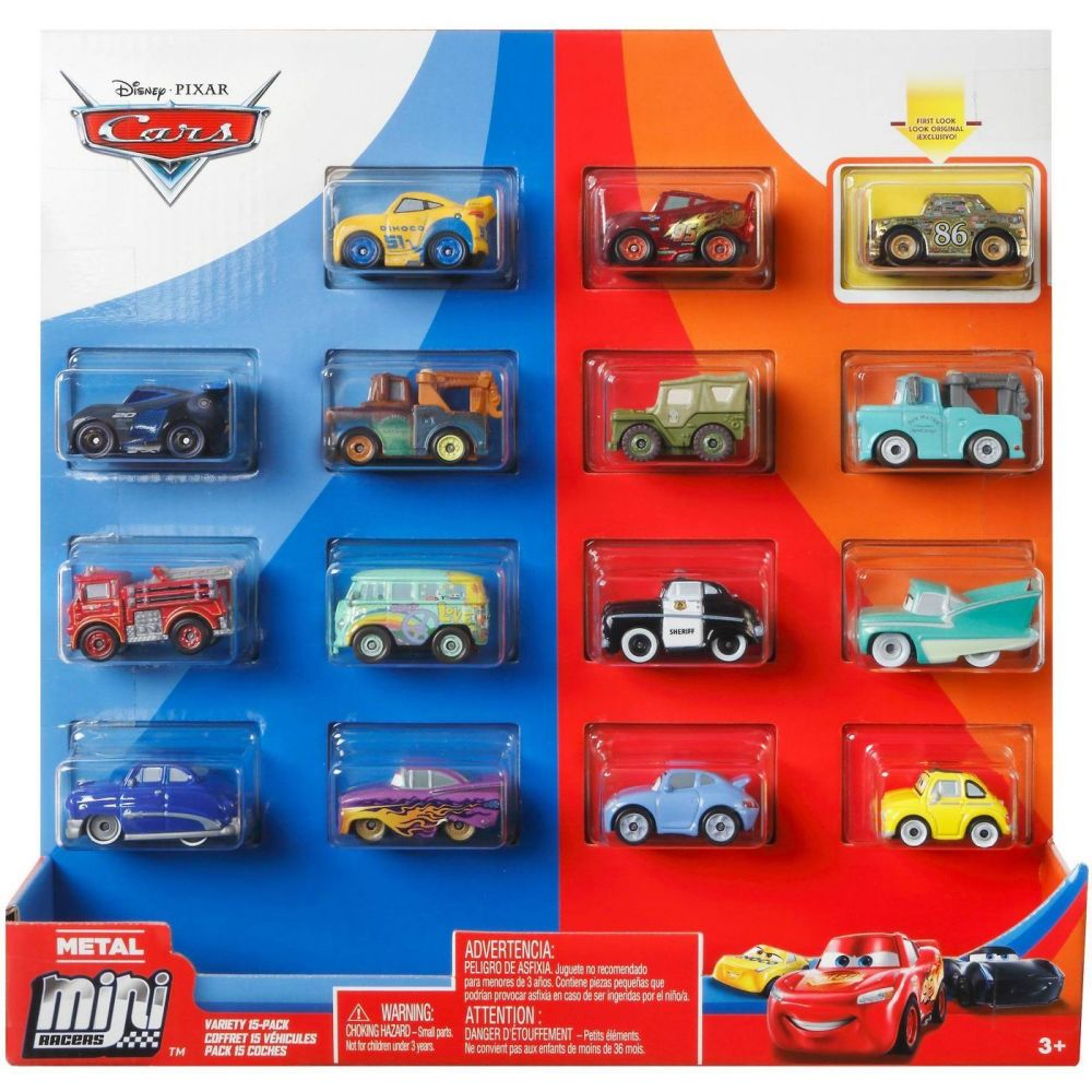 Cars Metal Mini Racers 15pk