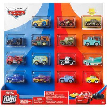 Cars Metal Mini Racers 15pk