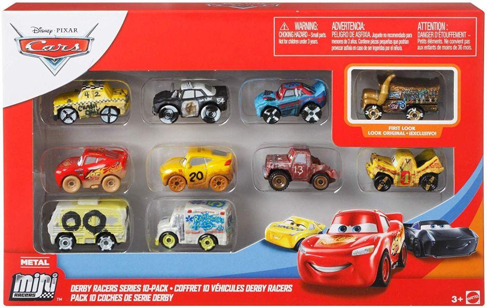 Cars Metal Mini Racers - Derby Racers 10pk