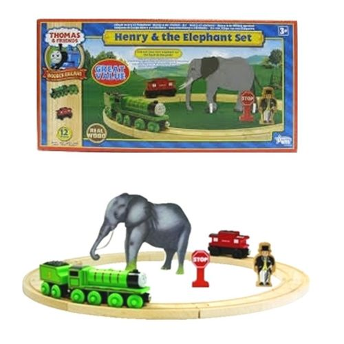 Henry and the Elephant - Thomas Wooden