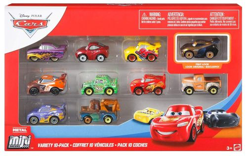 Cars Metal Mini Racers - Variety 10pk