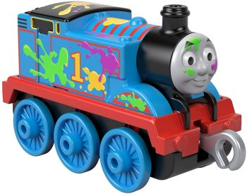 Thomas - Paint Splattered - Trackmaster Push Along