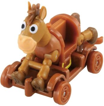 Tomica Ride On Toy Story  Bullseye & Cart