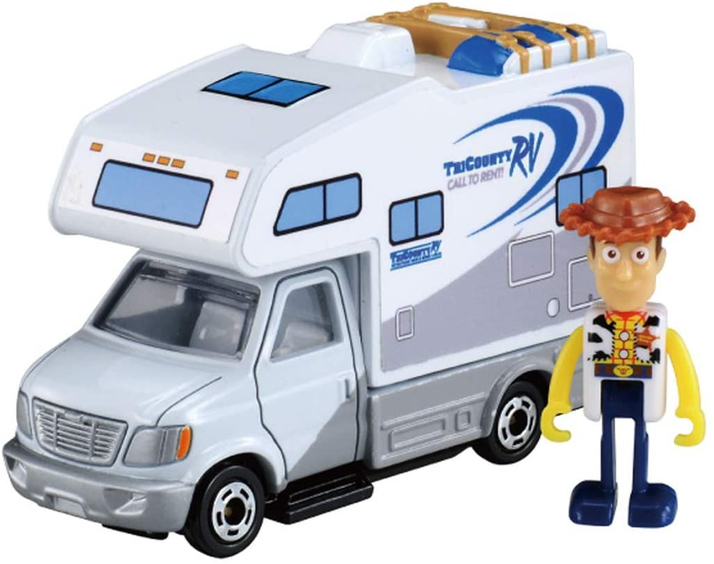 Tomica Ride On Toy Story Woody & RV Car