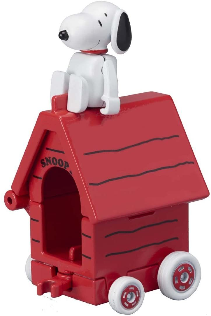 Tomica Ride On Snoopy and Kennel