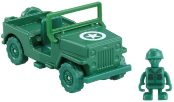 Tomica Ride On Toy Story  Little Army Men and Jeep