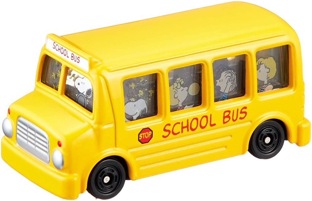 Tomica Snoopy School Bus