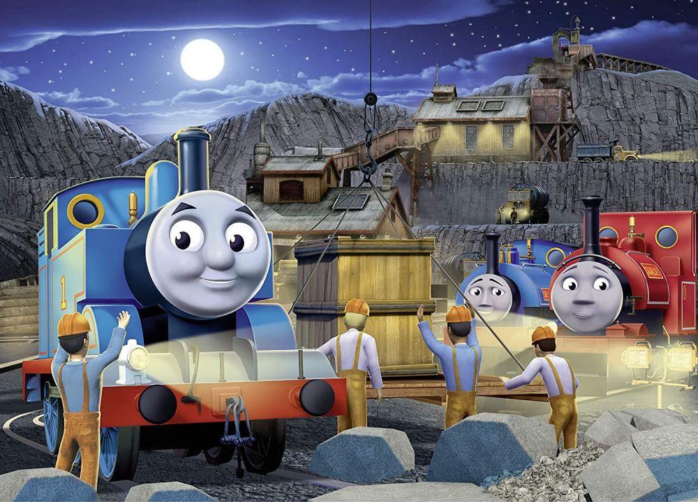 Thomas & Friends  Thomas Night Work Glow in the Dark Puzzle 60pc