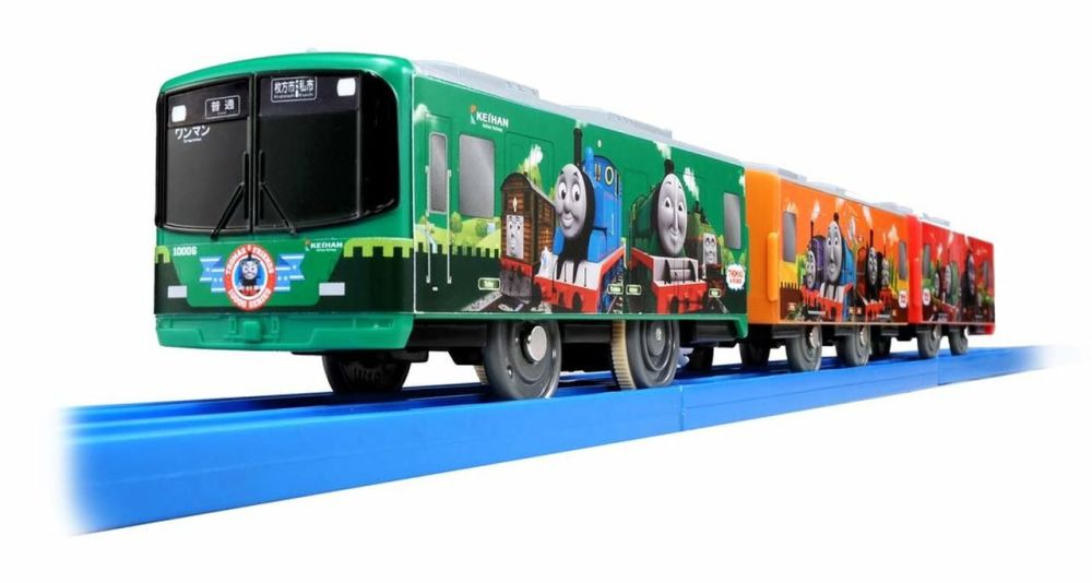 SC-10 Keihan Train 10000 Series Thomas - Plarail