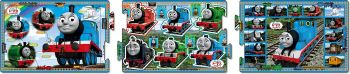 Thomas and Friends 3 Panel Panoramic Puzzle - 10/15/20 Pcs