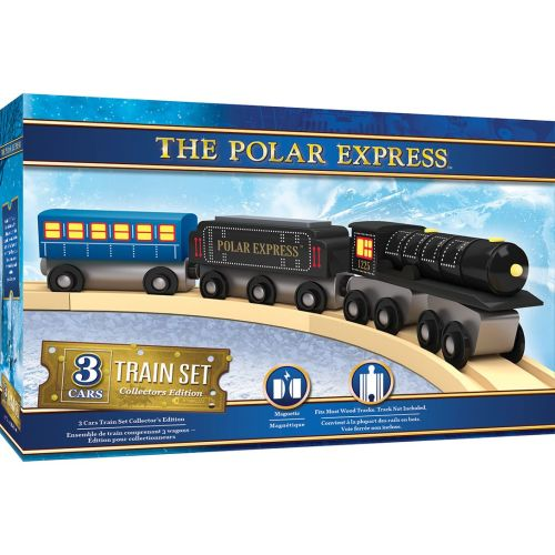 Polar Express Deluxe Train Set - Masterpieces - due wc23rd