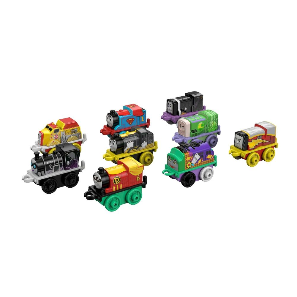 Thomas & Friends MINIS, 9-Pack DC Super-Friends