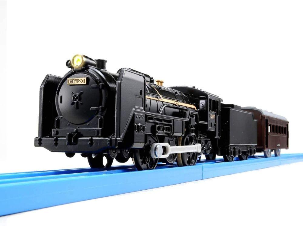 C61 Type 20 Steam Locomotive with Light - Plarail