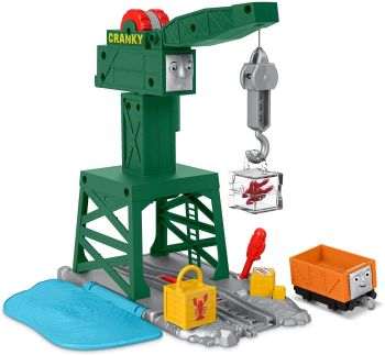 Cranky The Crane Playset - Thomas Motorized