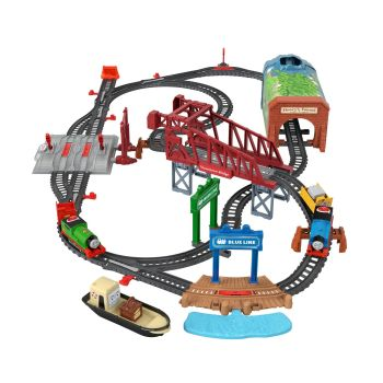 Thomas & Friends™ Talking Thomas & Percy Train Set ( Day Out on Sodor ) - Thomas Motorized