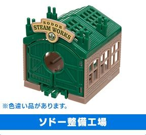 Sodor Steamworks - brown sides