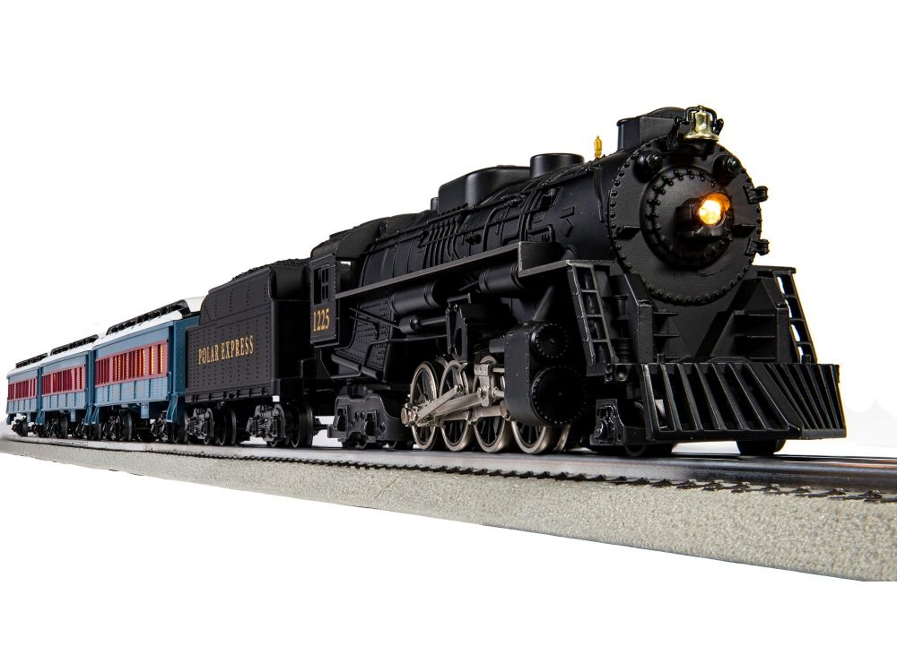 O Gauge The Polar Express Passenger Set with Bluetooth - Lionchief
