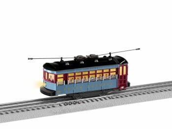 Polar Express Trolley Set with Announcement Track