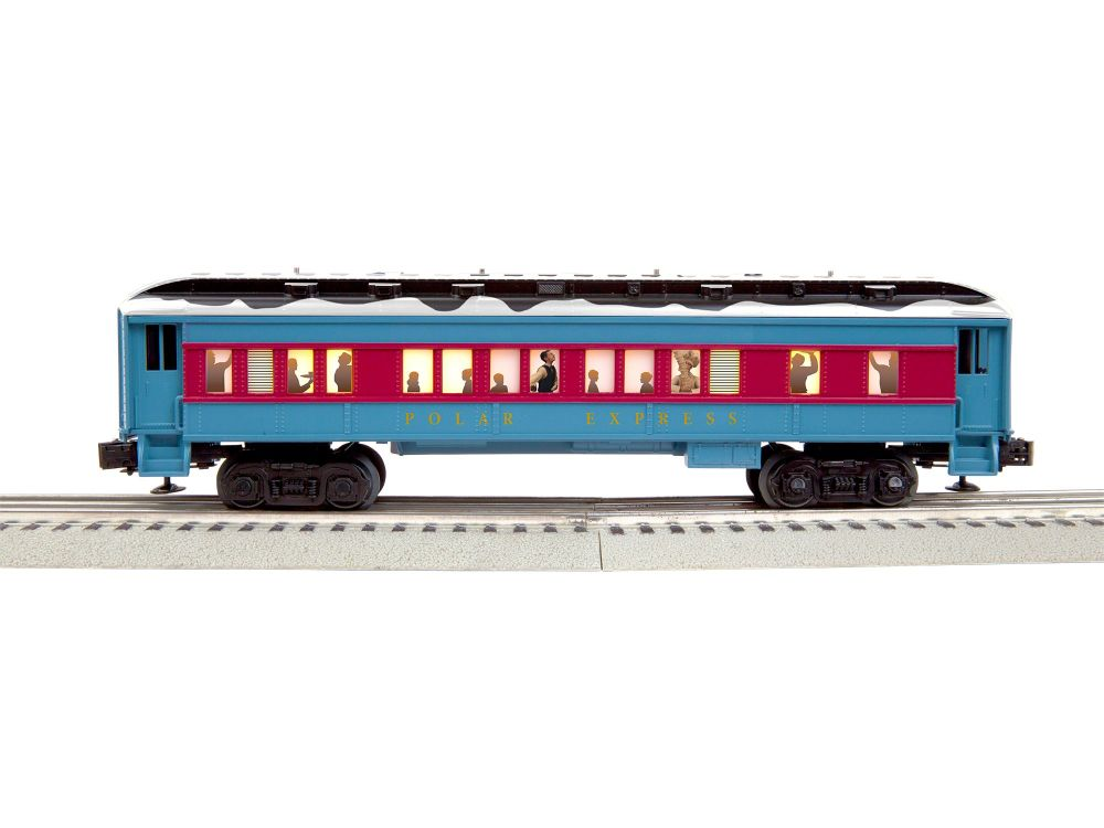 Polar Express Hot Chocolate Car w/Snow