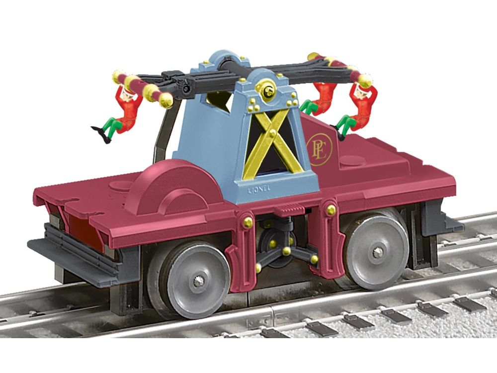 Polar Express Elf Handcar