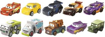 Disney Cars Mini Racers Variety 10 Pack