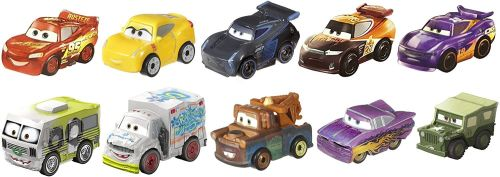 Disney Cars Mini Racers Variety 10 Pack