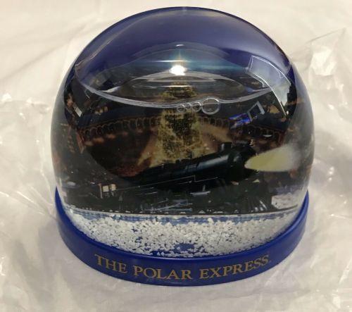 Polar Express Snow Globe