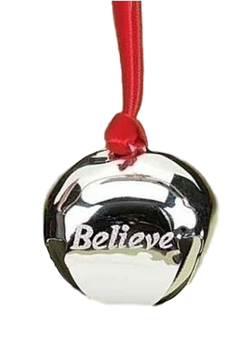 Polar Express Tree Ornament - Believe Bell   - Roman Inc