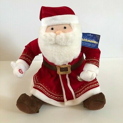 Polar Express Plush Talking Santa - Hallmark