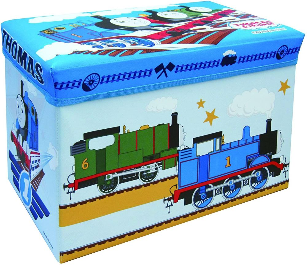 Thomas and Friends Storage Box with Lid - Old Style Graphics