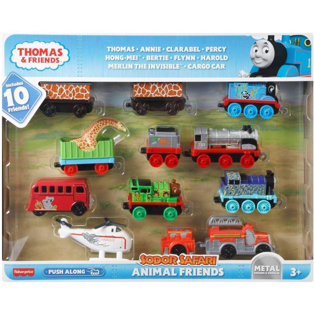 Thomas & Friends Animal Friends - 10pk Thomas Push Along