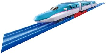 E5 Series Shinkansen Hayabusa with Speed Change Rail