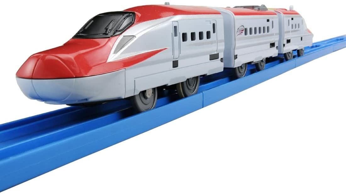 Series E6 Shinkansen  Komachi with Magnetic Coupling for extra trains