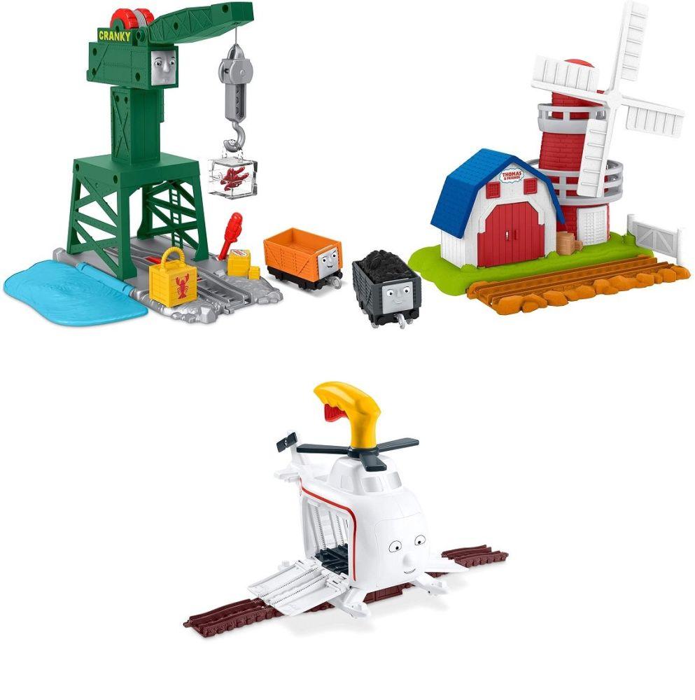 Cranky , Windmill and Giant Harold Bundle