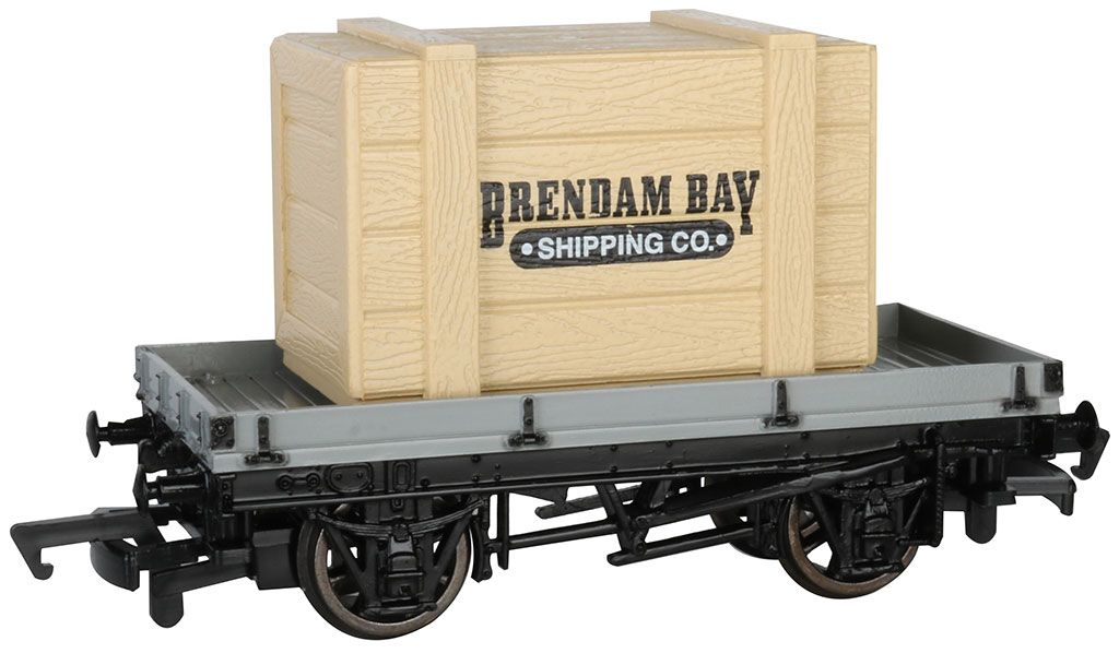 1 Plank Wagon with Brendam Bay Shipping Co. Crate