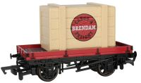 1 Plank Wagon with Brendam Cargo & Freight Crate