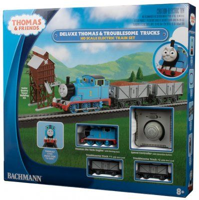 Deluxe Thomas & The Troublesome Trucks Set (HO Scale) - Bachmann