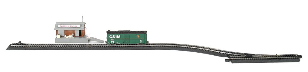 EZ Track  Freight Transfer Siding Set - Bachmann