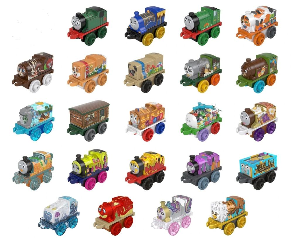 Set of 23 - does not include Chrome Percy - 1 per customer