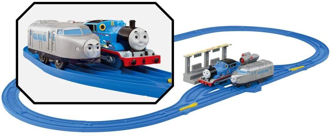 Kenji and Thomas Chase Set - Plarail