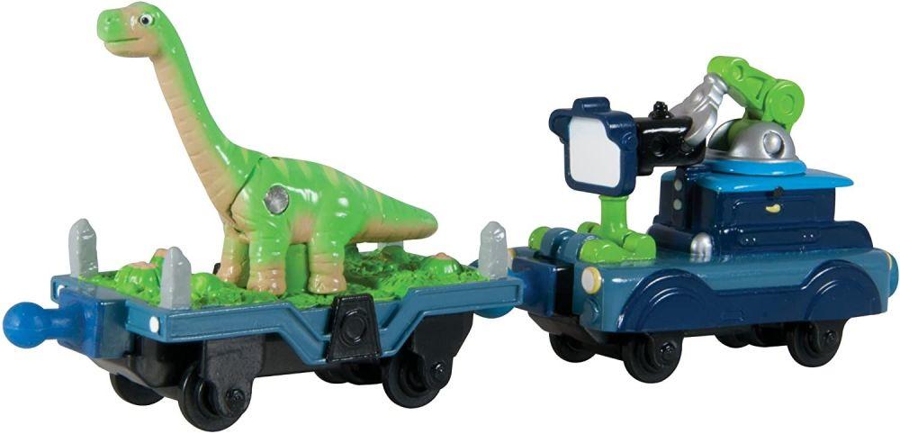 Dinosaur and Camera Car - Chuggington Die Cast