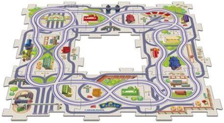 Track Pack - 8 Pcs - Chuggington Puzzle Town
