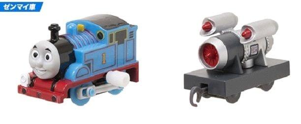 Thomas ( Wind Up) and the Rocket - Plarail Capsule