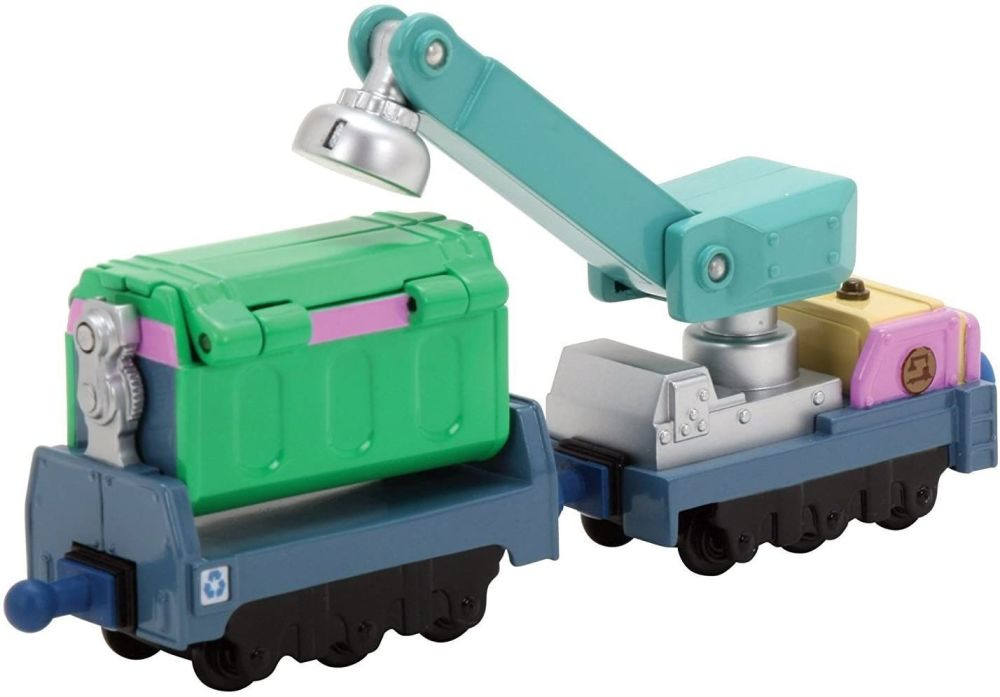 Irving's Rubbish and Recycling Cars - Chuggington Die Cast